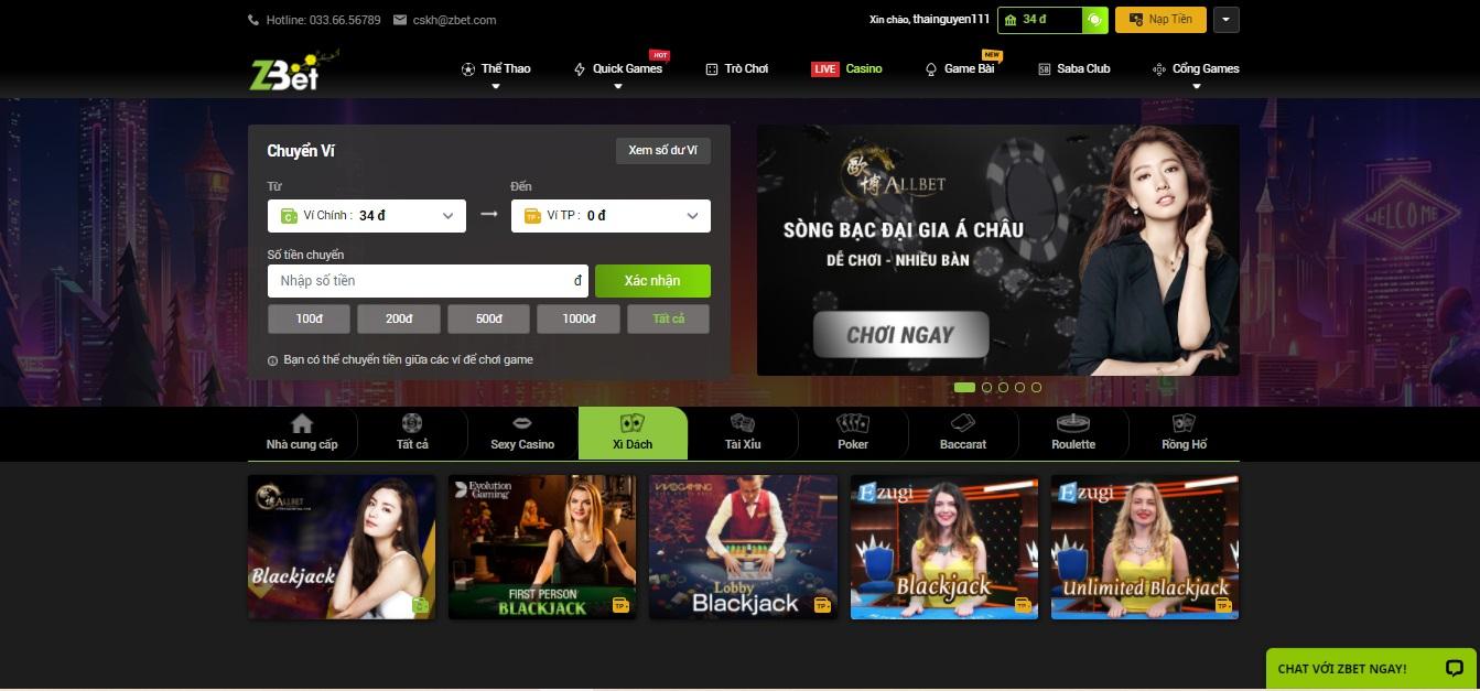 Bài Baccarat trong casino trực tuyến