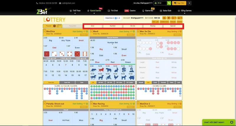 cách chơi lottery online