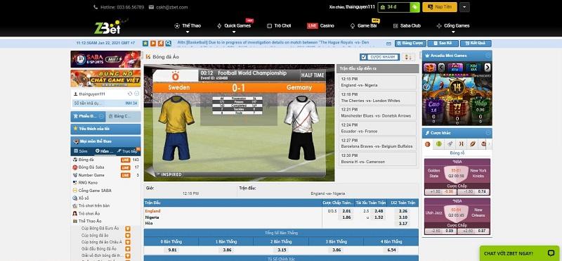 Thể thao ảo hay còn được biết với một cái tên khác là Virtual Sport. Đây là một trận đấu và trò chơi được mô phỏng lại trên nền tảng 3D