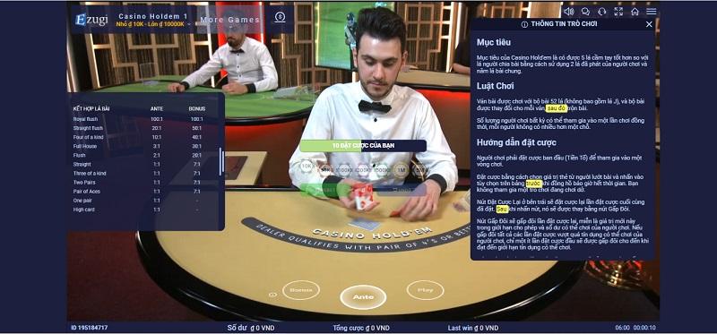 """Một số kinh nghiệm """"xương máu"""" lúc chơi sòng bạc online"""